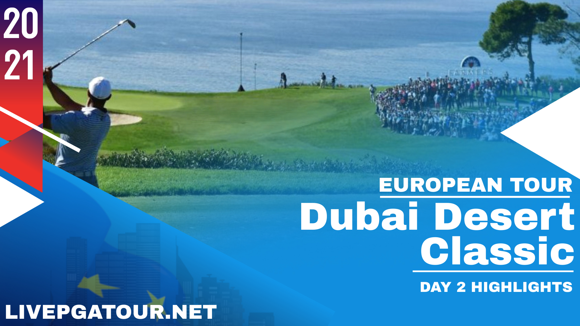 Dubai Desert Classic Day 2 Highlights 2021 European Tour