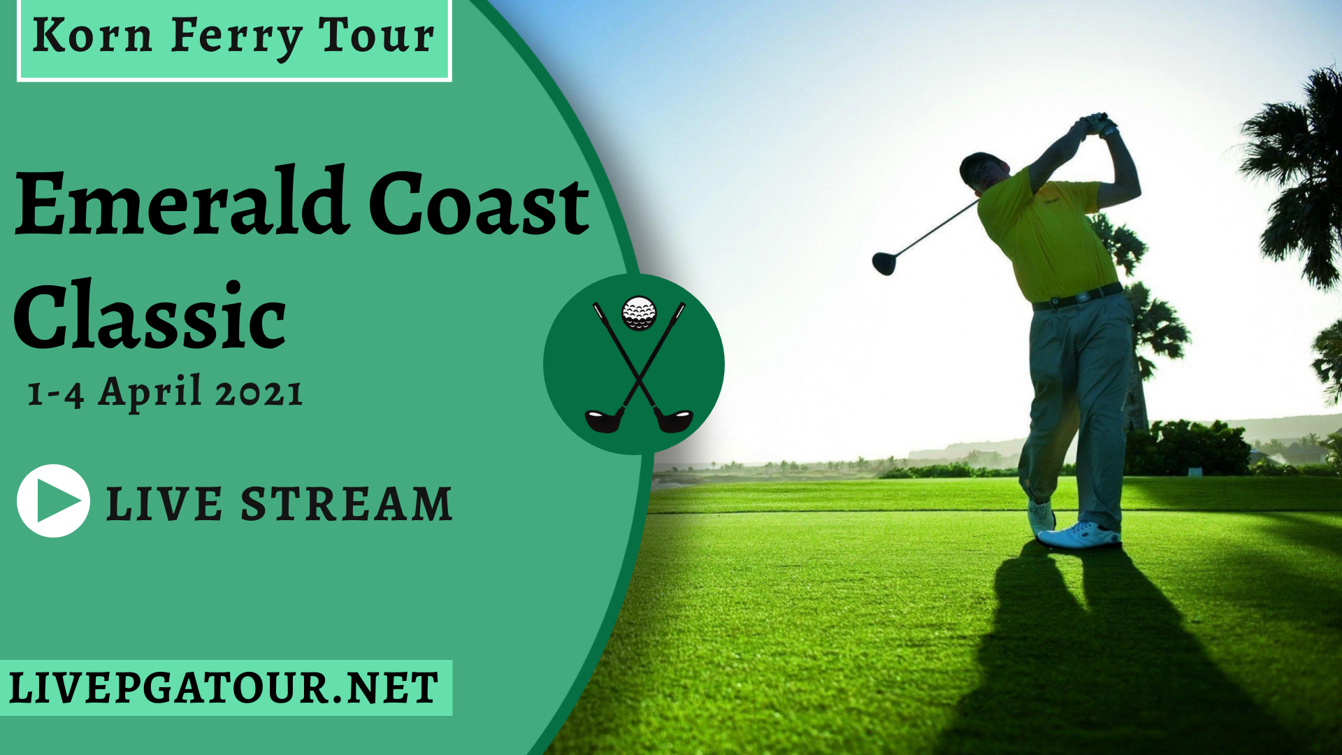 Emerald Coast Classic Live Stream 2021: Korn Ferry Tour Day 1